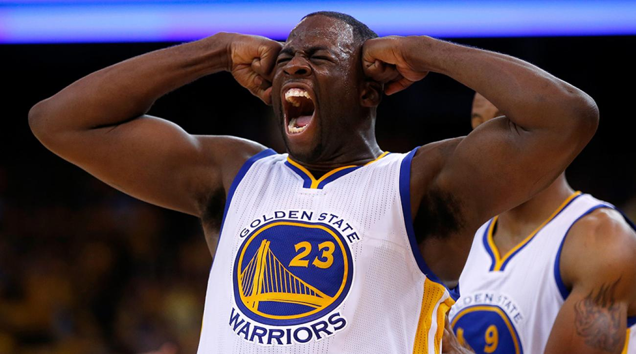 draymond green warriors profile intensity