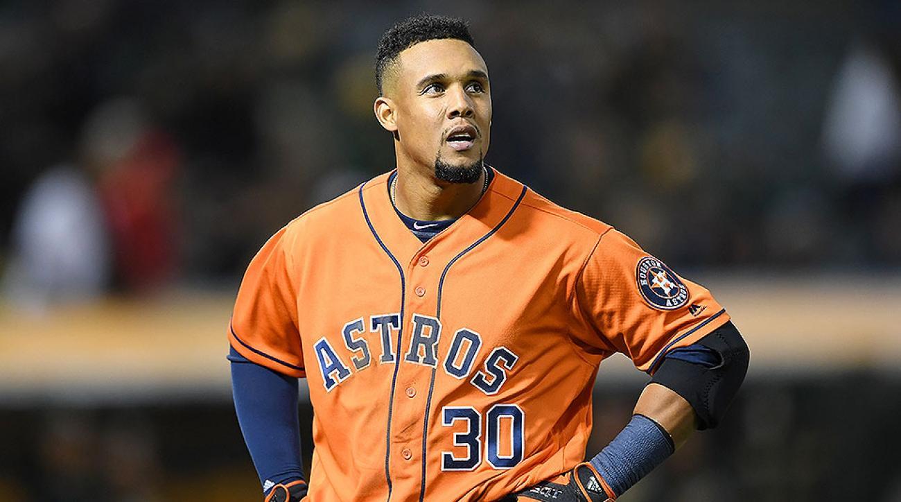 Houston Astros Carlos Gomez