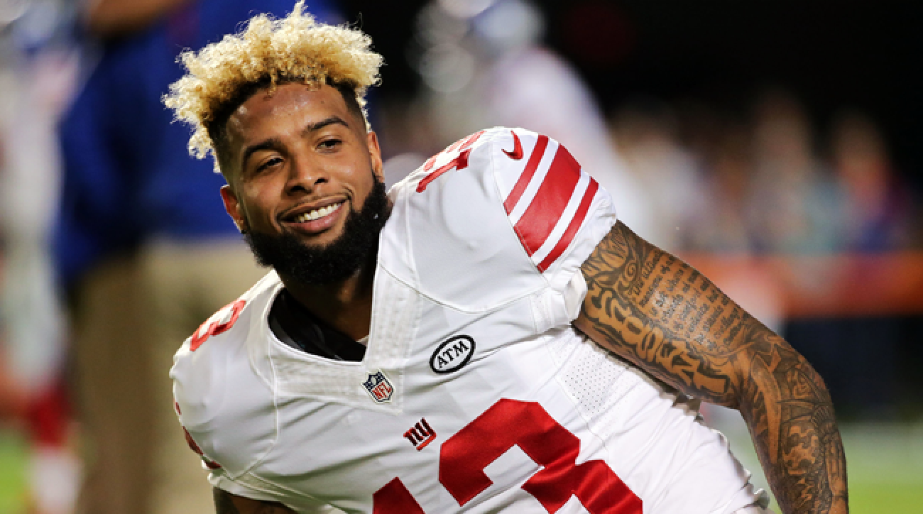 New York Giants wideout Odell Beckham Jr.