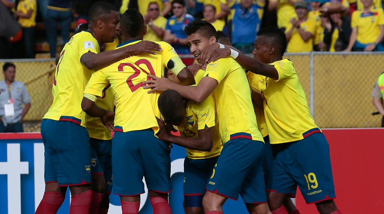 Ecuador has named its Copa America Centenario roster