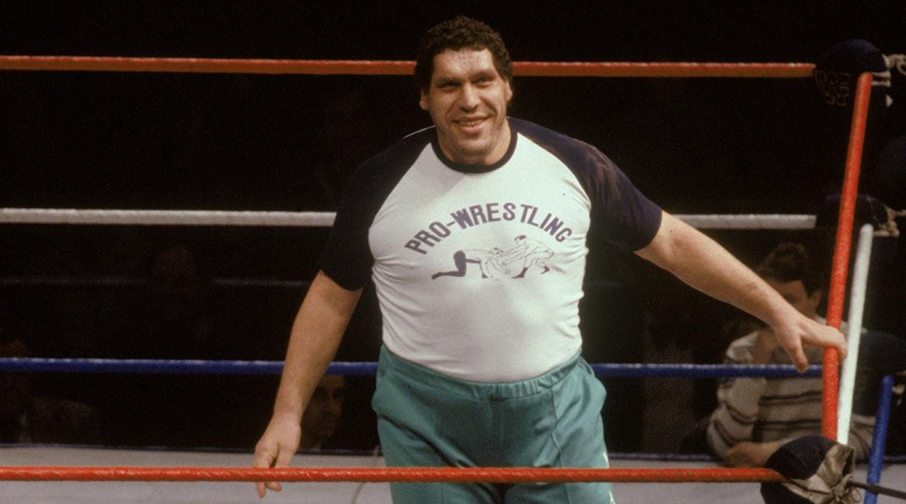 andre the giant sports illustrated profile