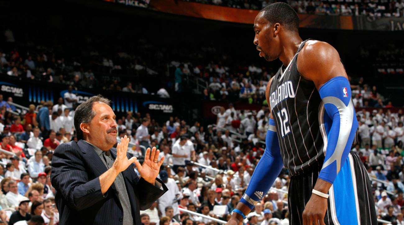 dwight howard orlando magic stan van gundy