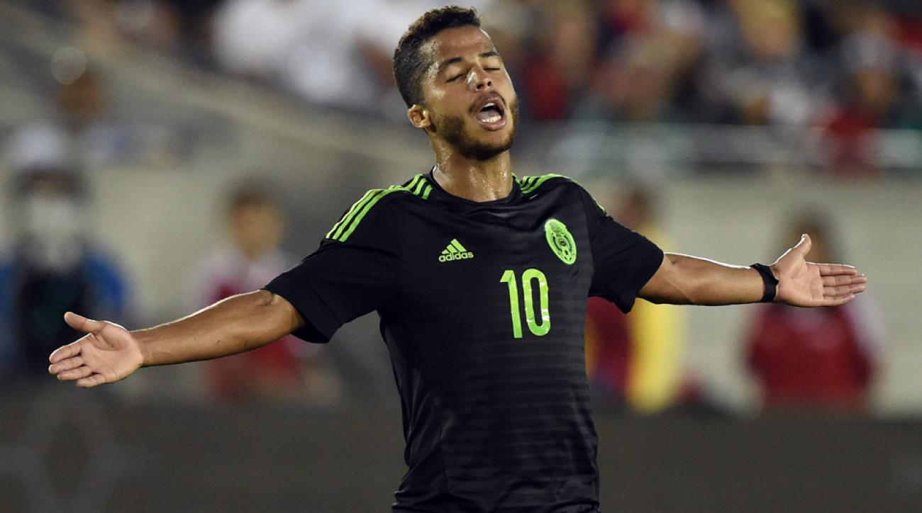 Giovani dos Santos won't play for Mexico at Copa America