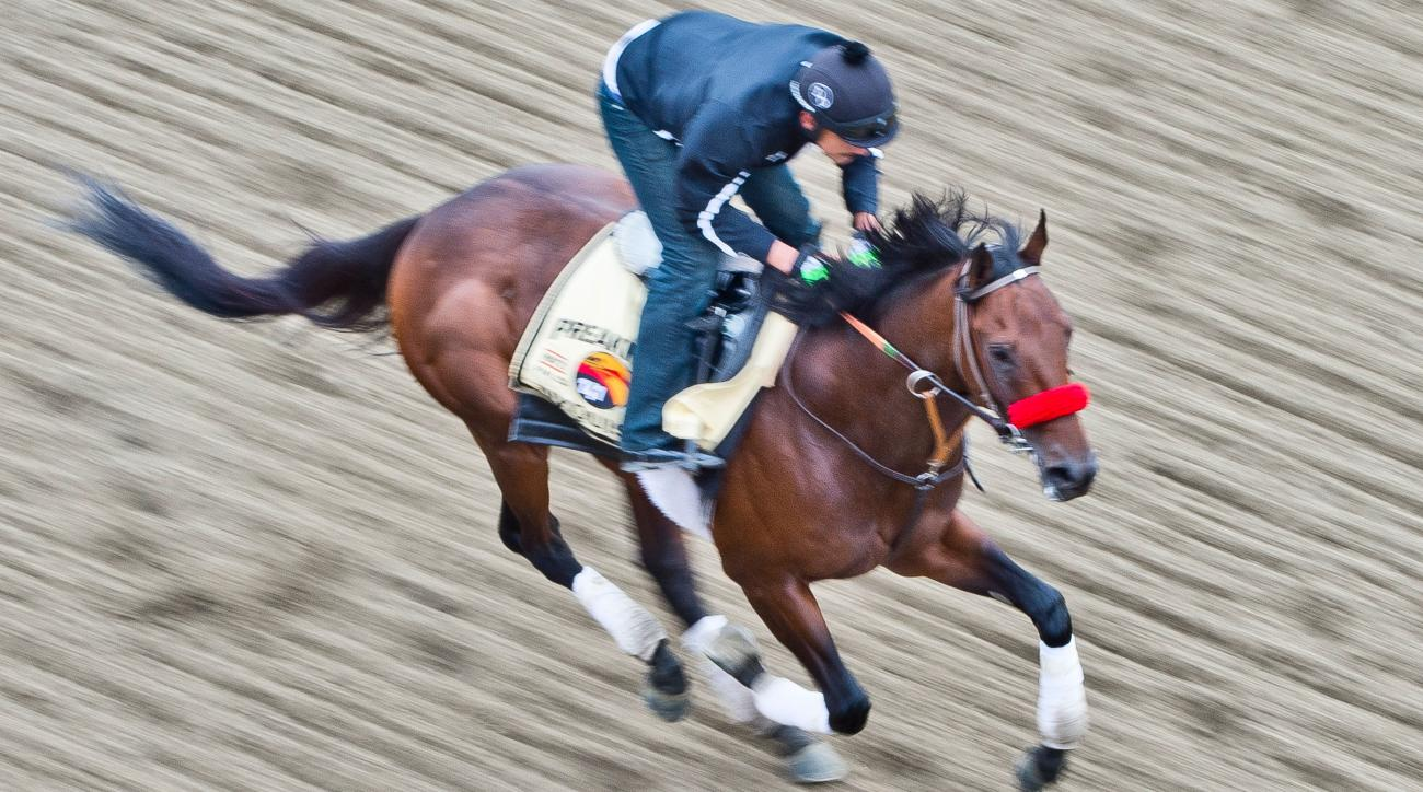 nyquist preakness stakes triple crown