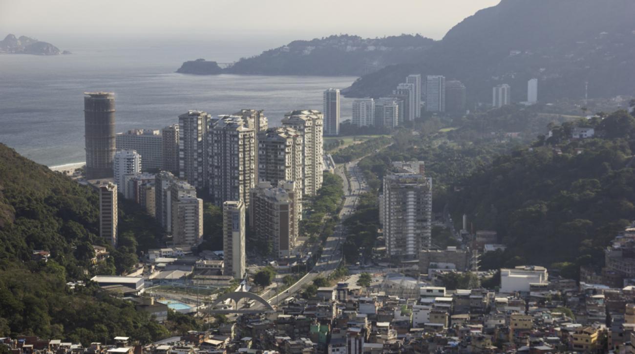 rio olympic village condom athletes