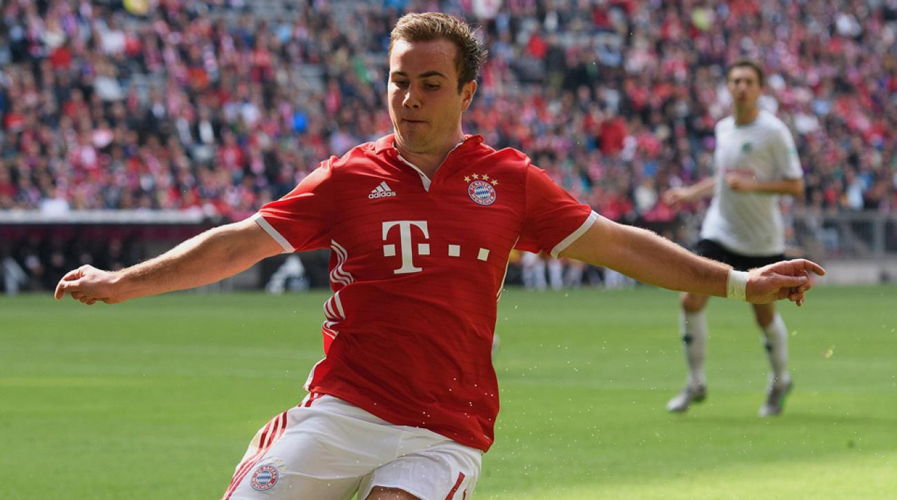 Mario Gotze is out of the German Cup final
