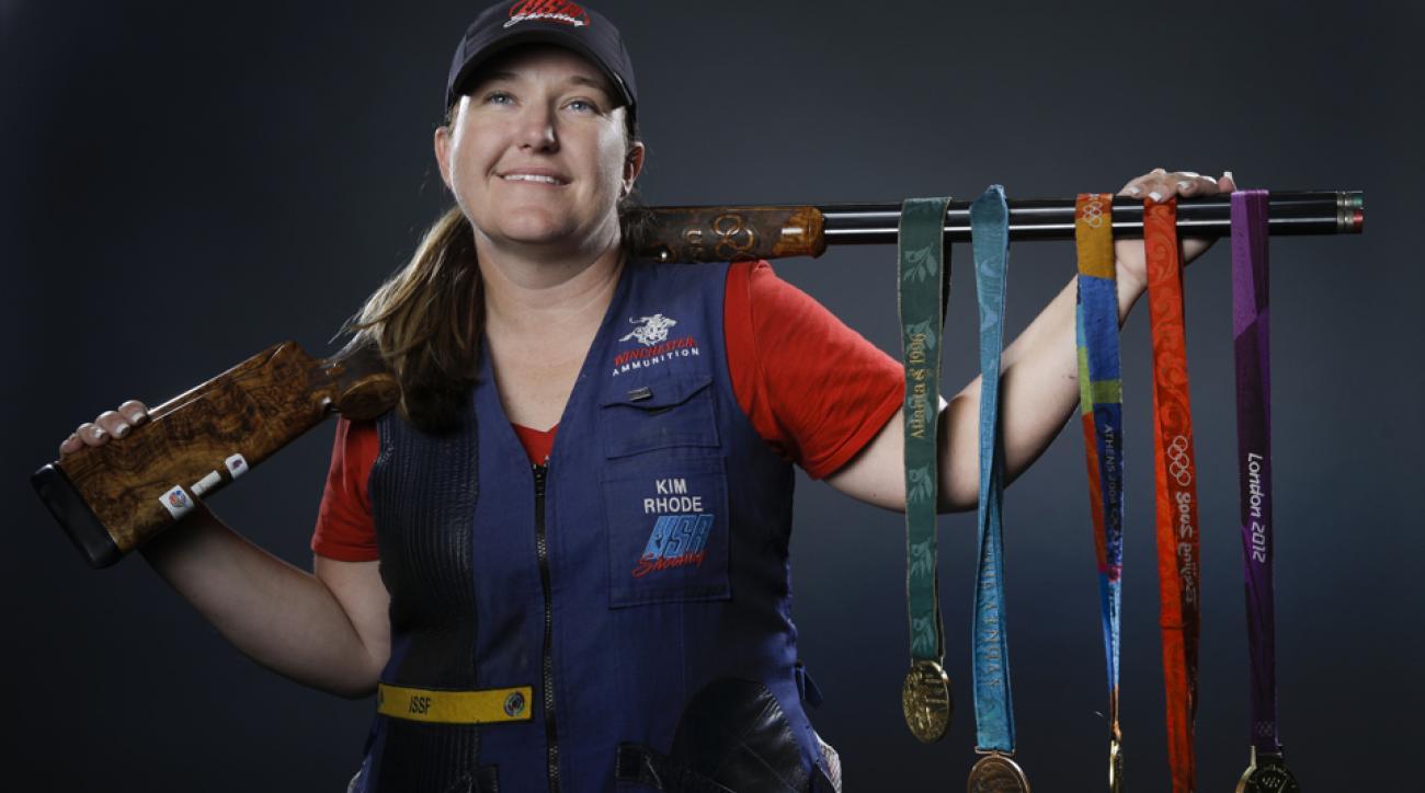 kim rhode qualifies olympics rio 2016 shooting