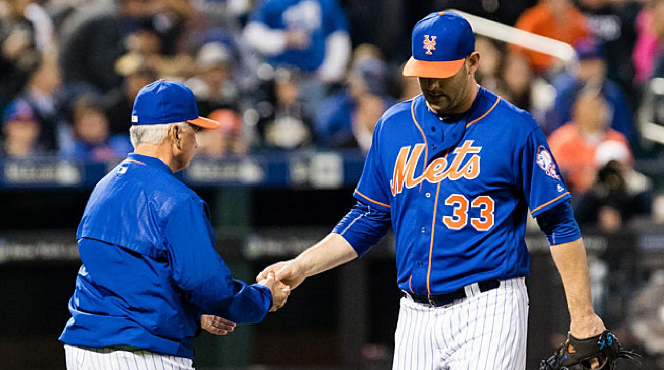 Matt Harvey and Terry Collins, New York Mets