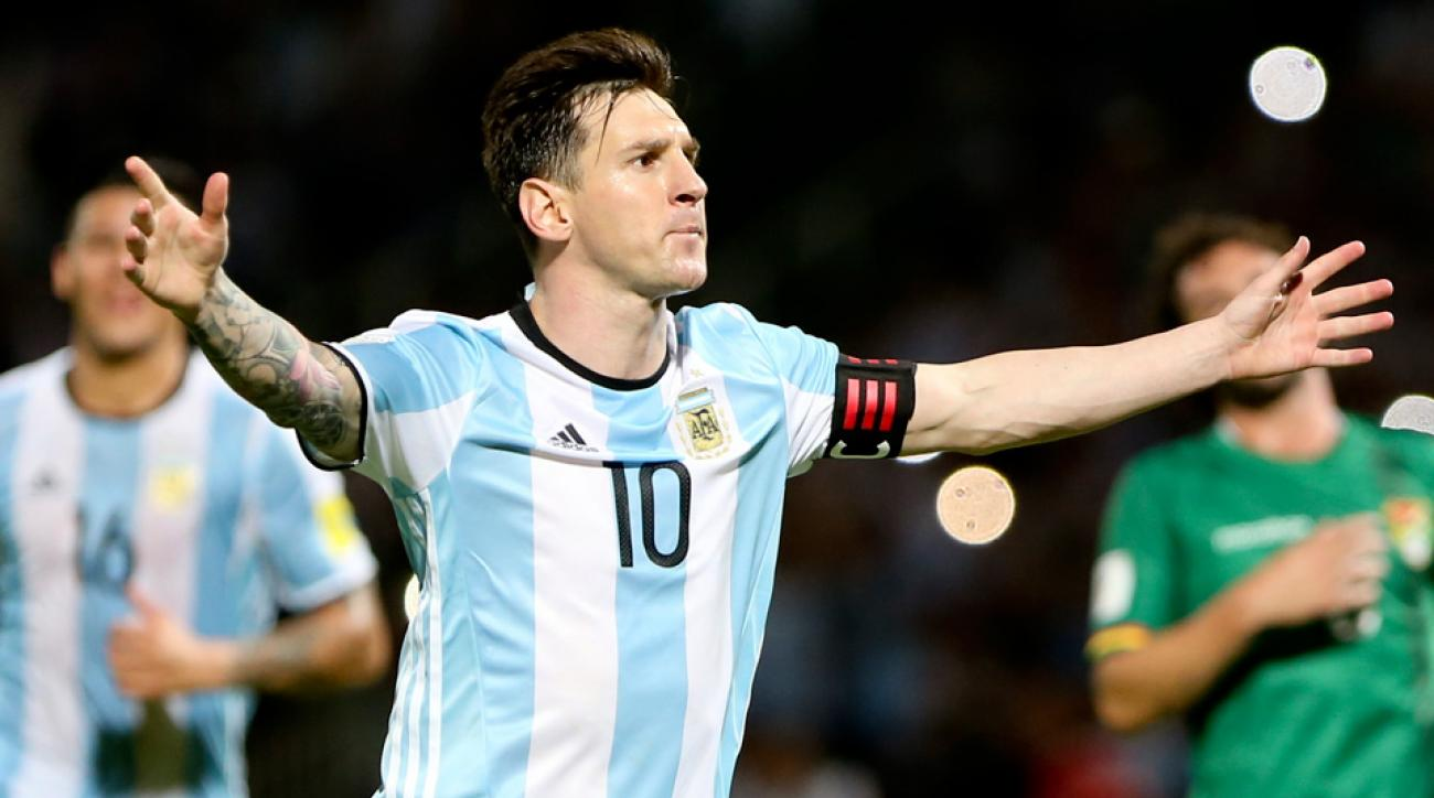 Lionel Messi will lead Argentina at Copa America Centenario