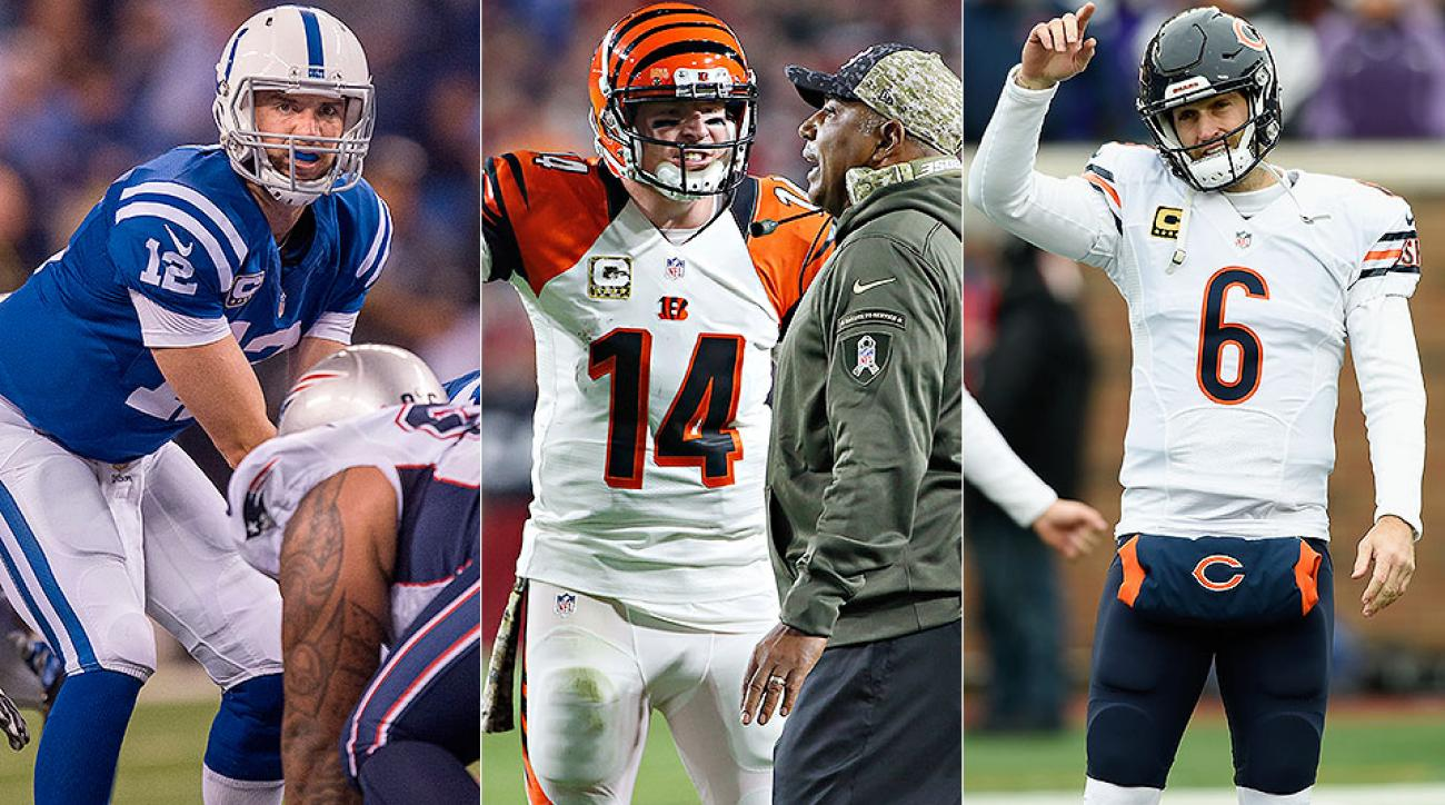 Andrew Luck, Jay Cutler, Andy Dalton among quarterbacks with the most to prove