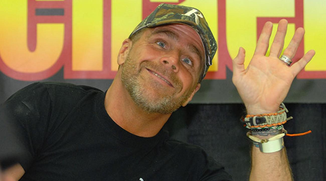 Wrestler Shawn Michaels attends day 2 of Autorama at Cobo Hall on March 8, 2014 in Detroit, Michigan. (Photo by Paul Warner/Getty Images)