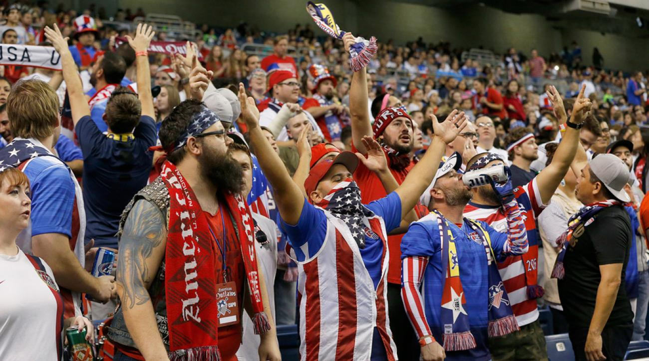 The American Outlaws support the U.S. women's national team