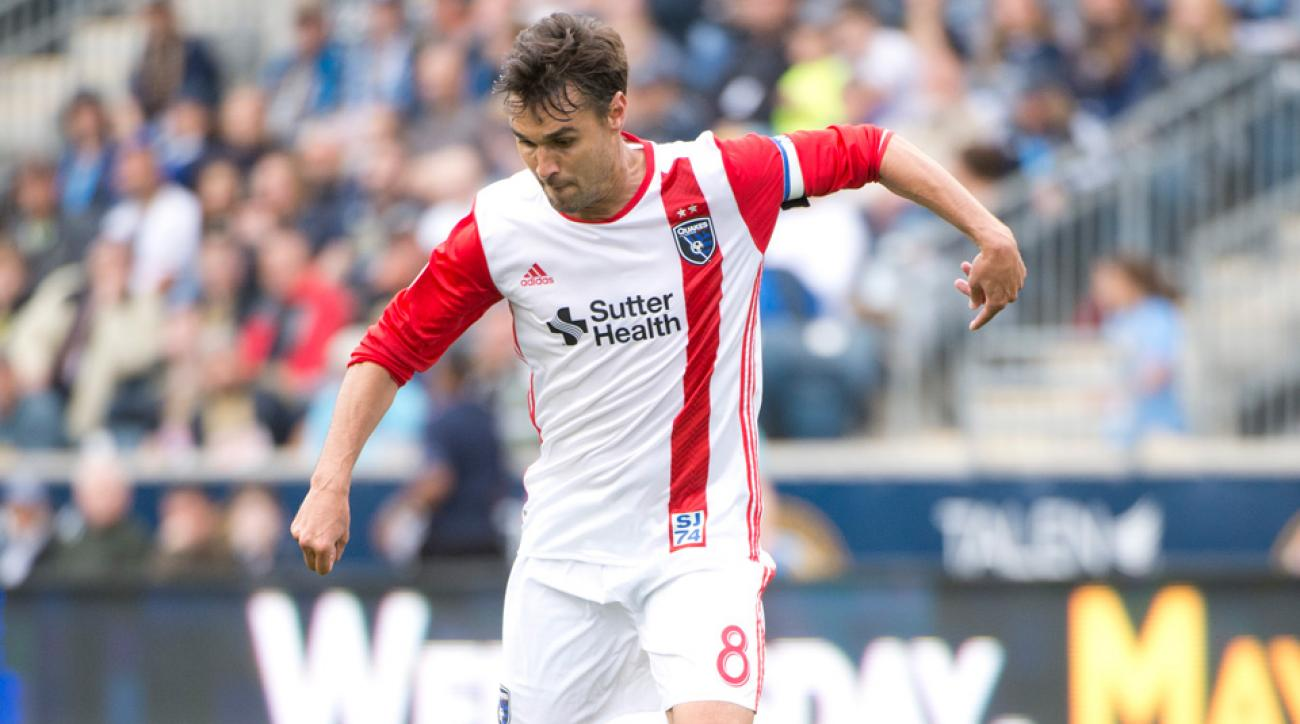 Chris Wondolowski signed a new contract with the San Jose Earthquakes