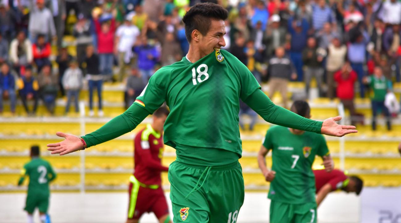 Juan Carlos Arce leads Bolivia at Copa America