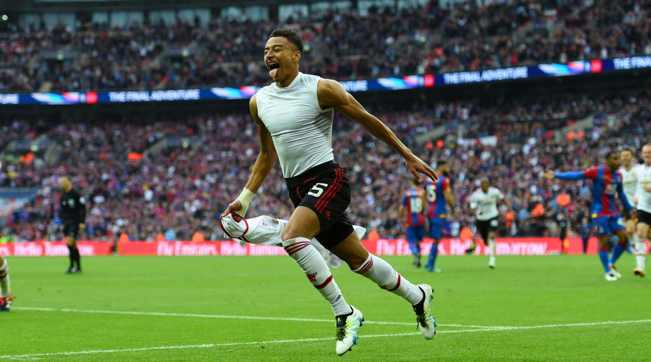 manchester united jesse lingard winning goal fa cup