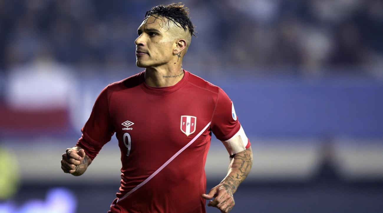 Peru forward Paolo Guerrero will lead his nation at Copa America