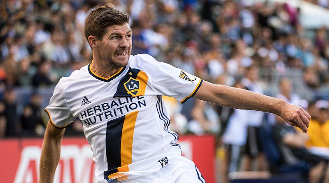 LA Galaxy Steven Gerrard