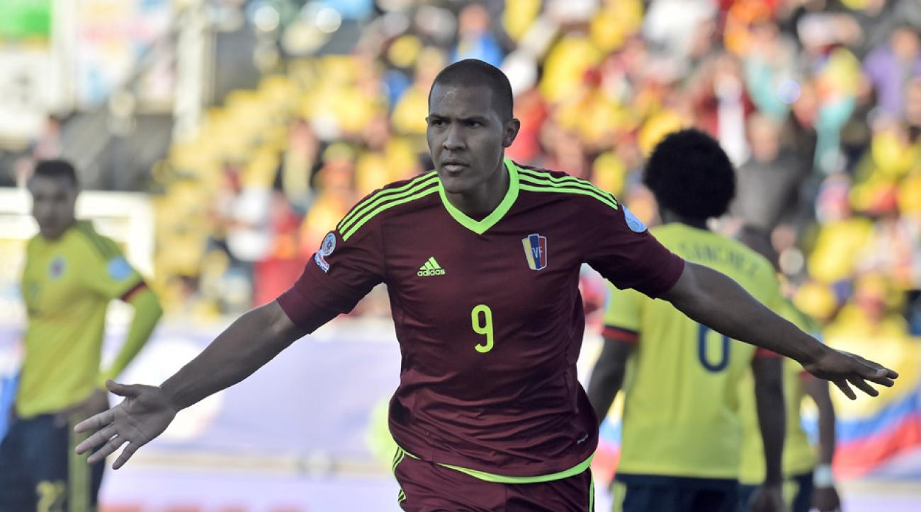 Salomon Rondon leads Venezuela at Copa America