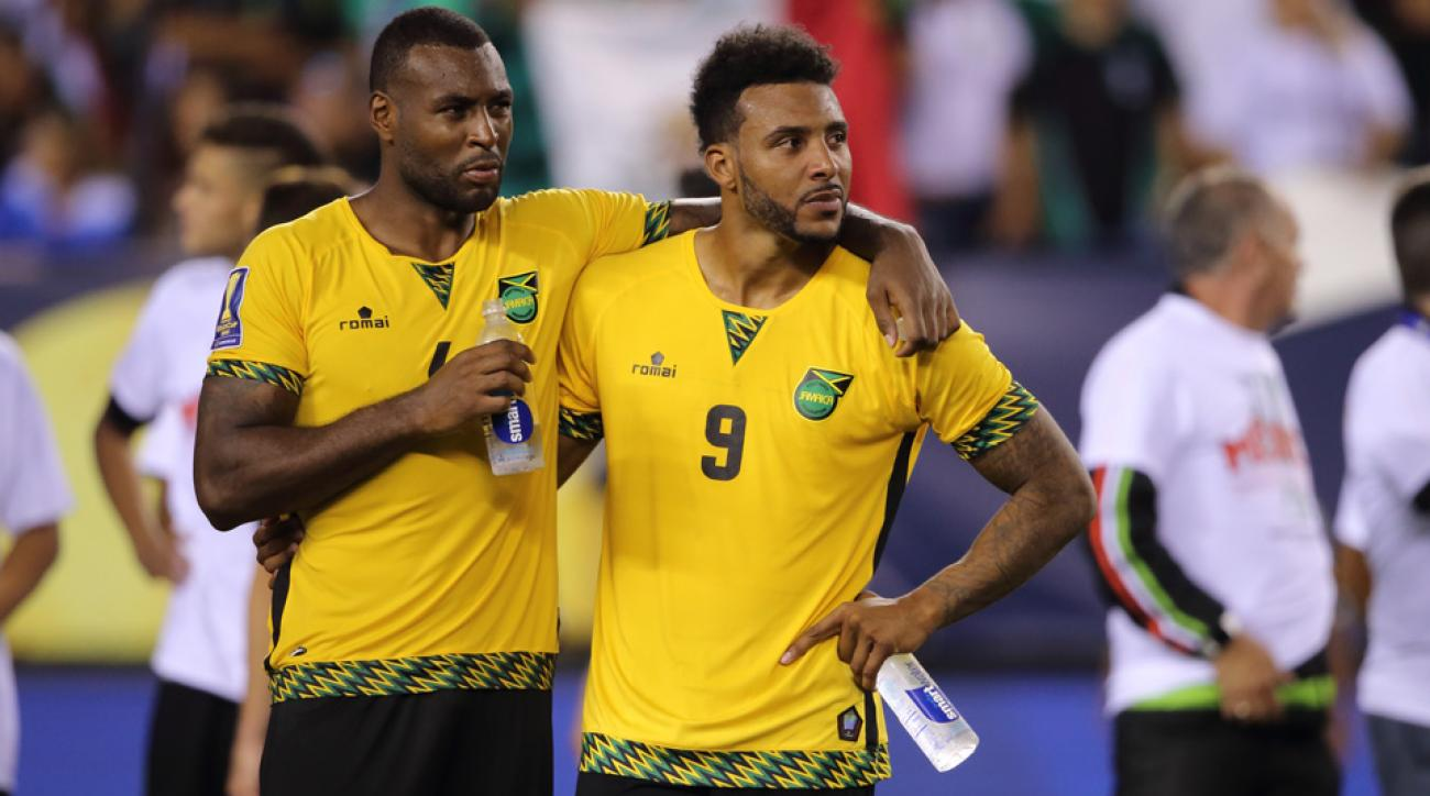 Wes Morgan and Giles Barnes lead Jamaica at Copa America