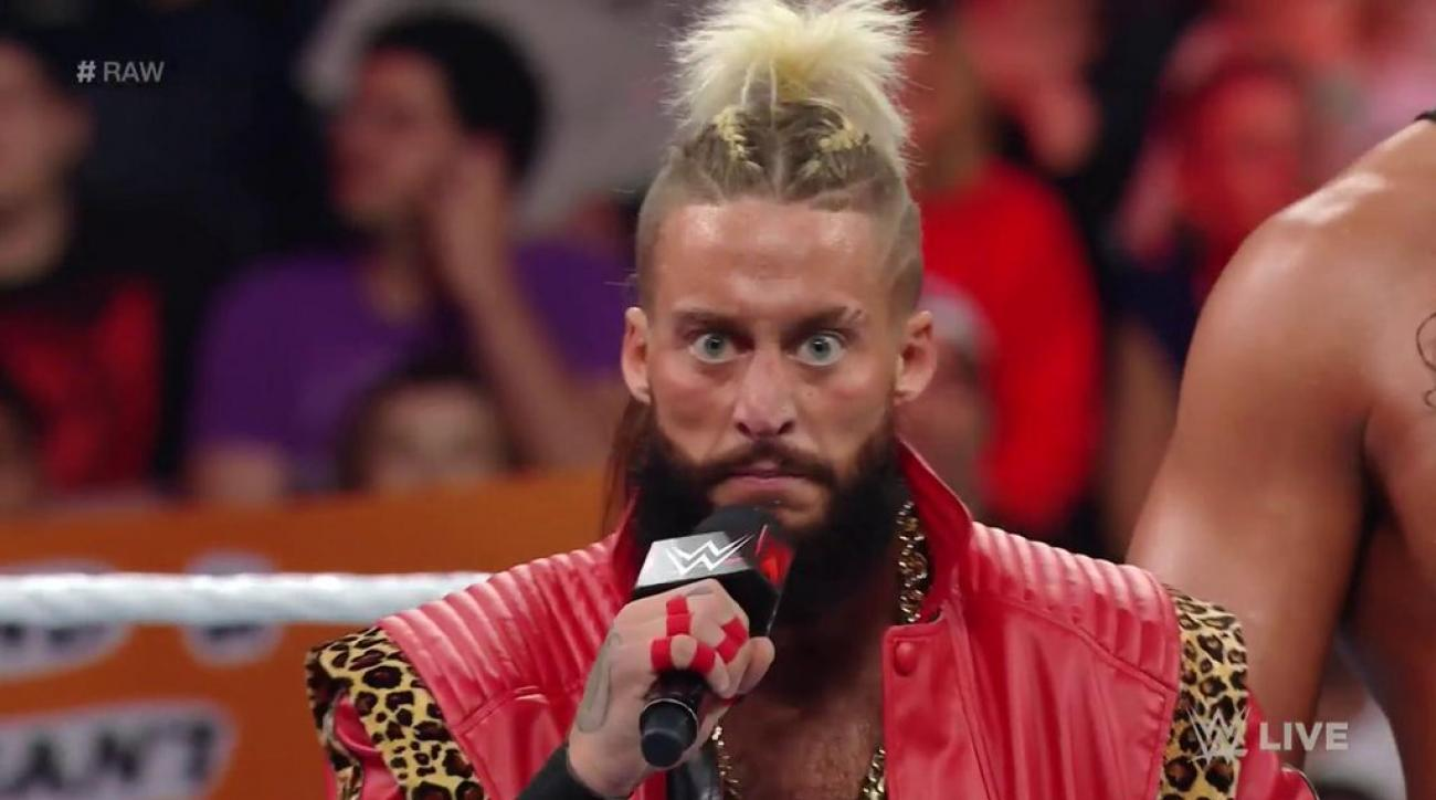 wwe raw enzo amore return concussion video