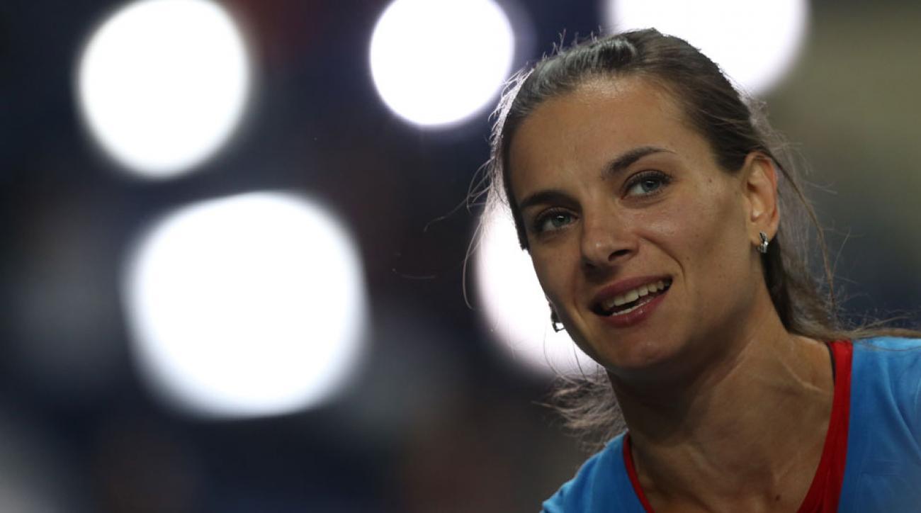 yelena isinbayeva russia doping ban olympics rio