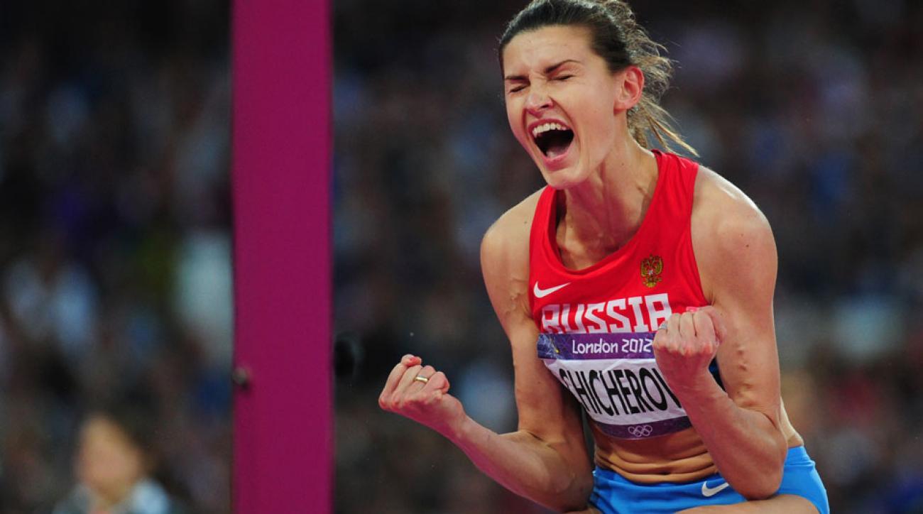 anna chicherova doping 2008 olympics russia