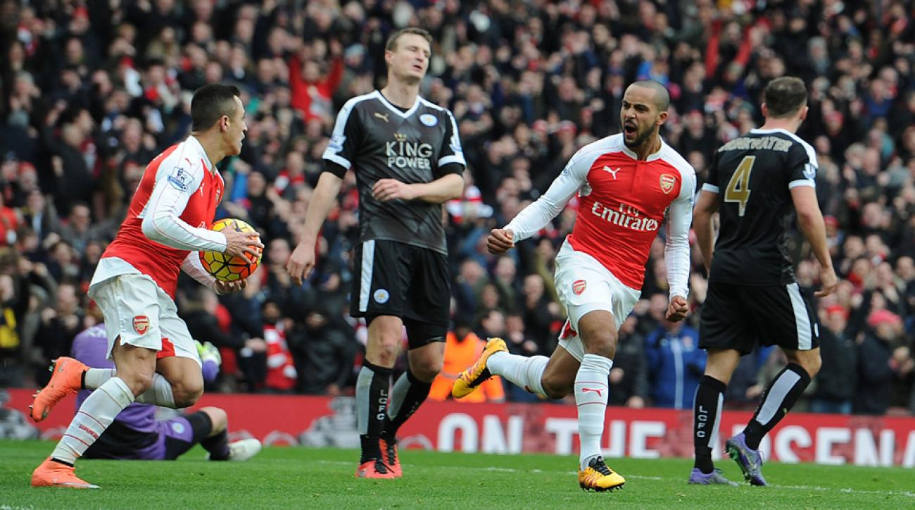 Arsenal beats Leicester City in the Premier League