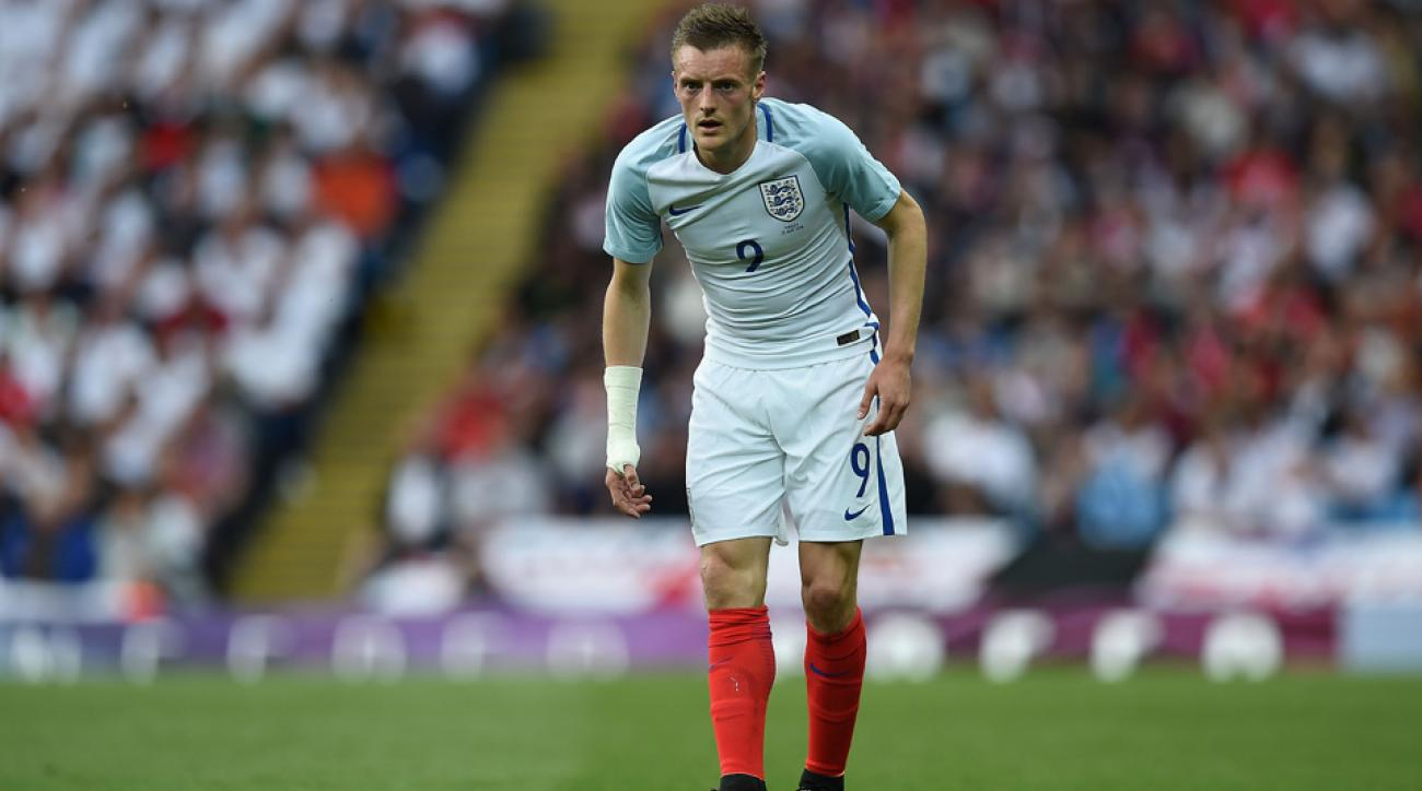 Leicester City's Jamie Vardy is getting married