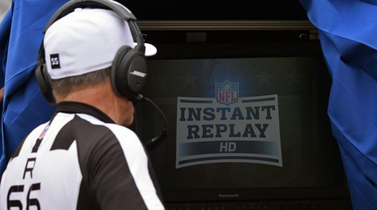 nfl instant replay rule change officials