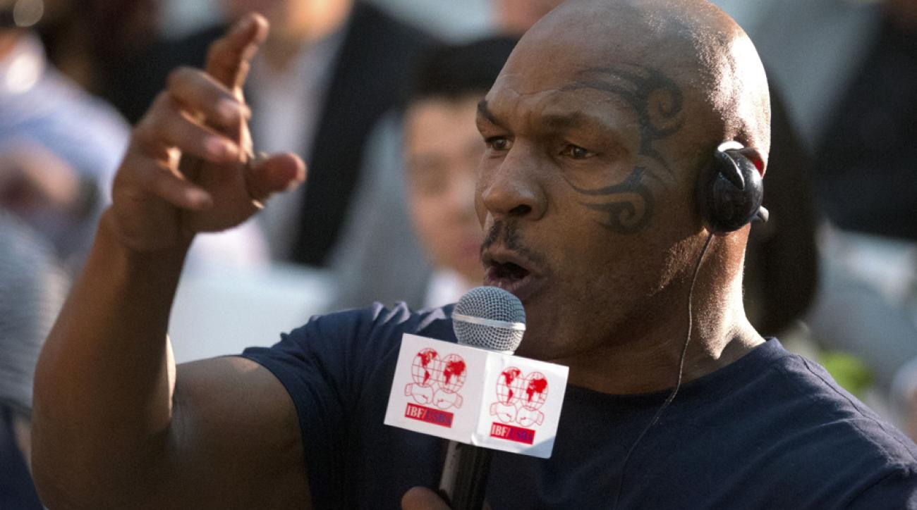 mike tyson 2016 olympics professional boxing
