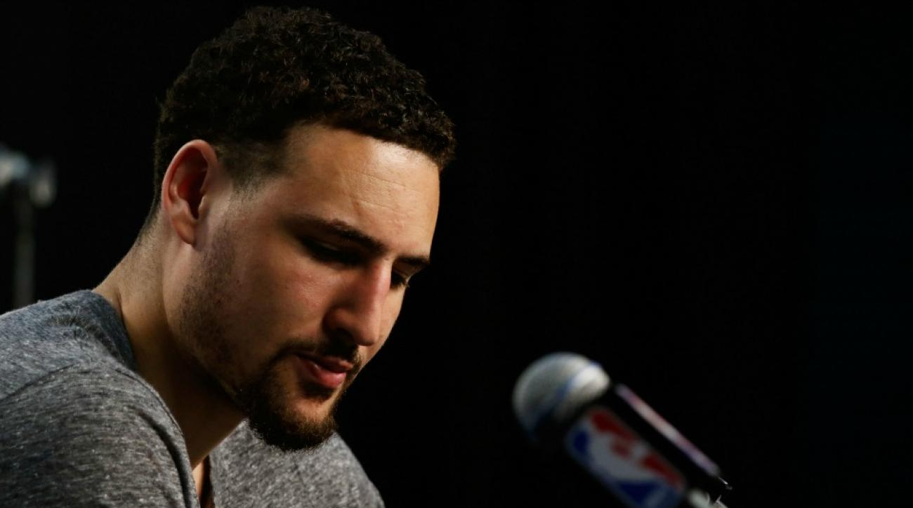 Warriors' Klay thimpson thought team had 40 assists when they only had 15