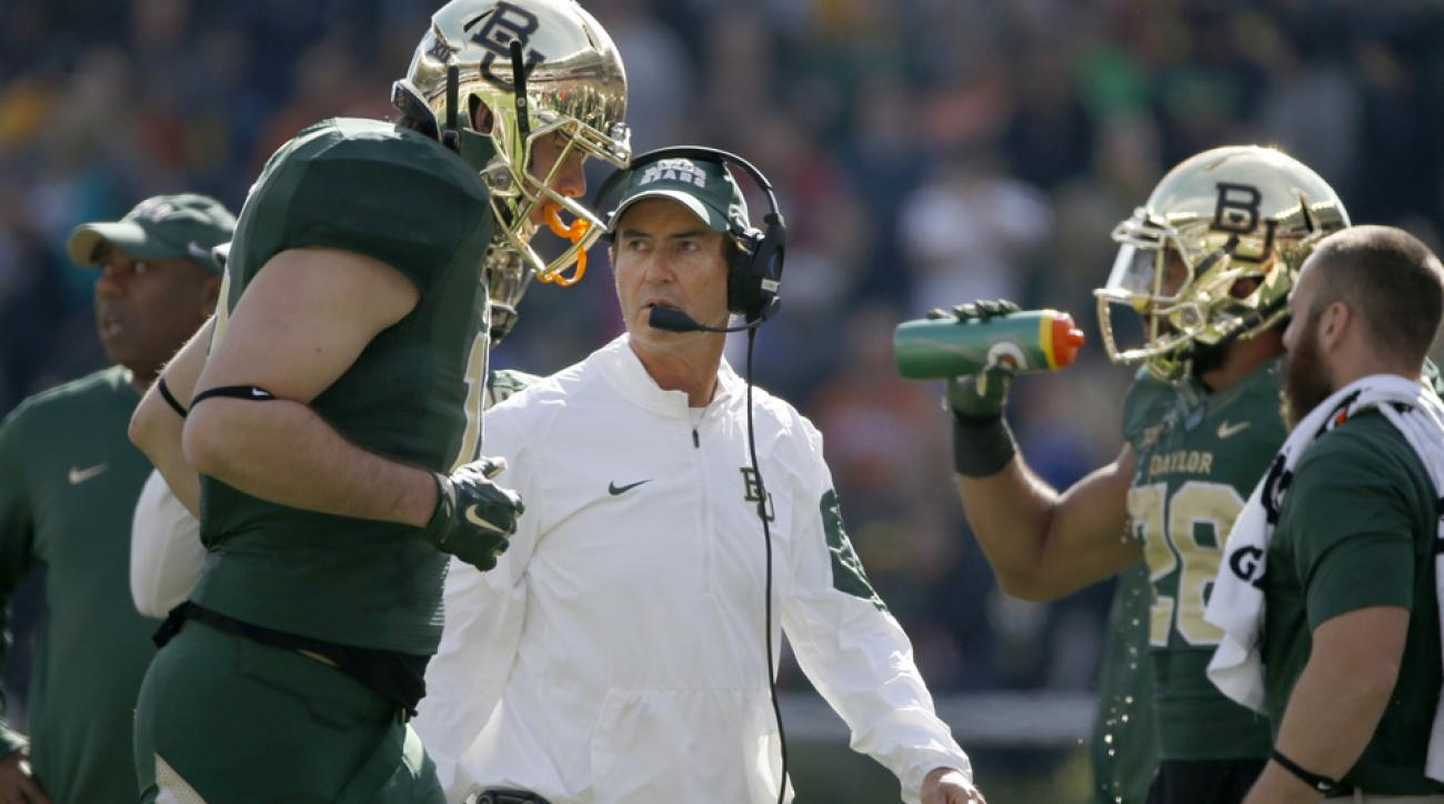 baylor football players react art briles fired