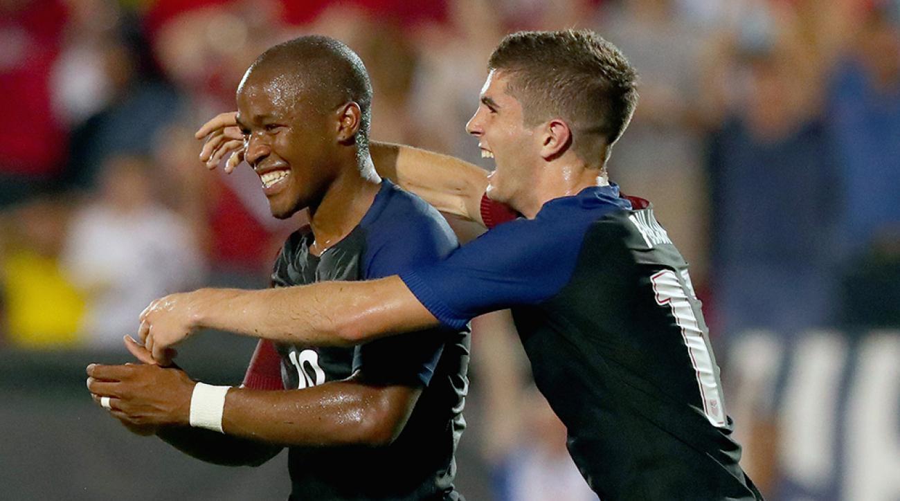 christian pulisic usa usmnt united states soccer darlington nagbe ecuador