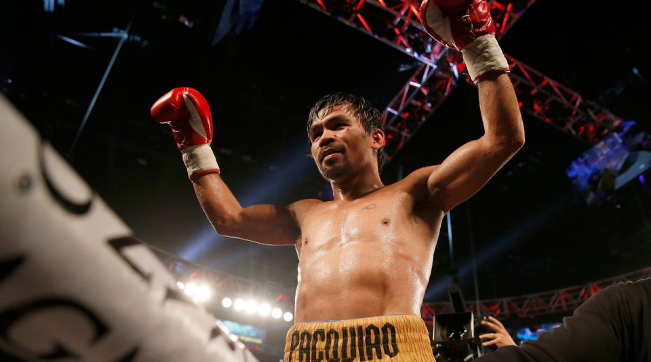 manny pacquiao wont compete rio olympics