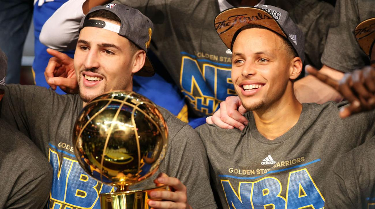 warriors cavaliers thunder nba title betting favorites
