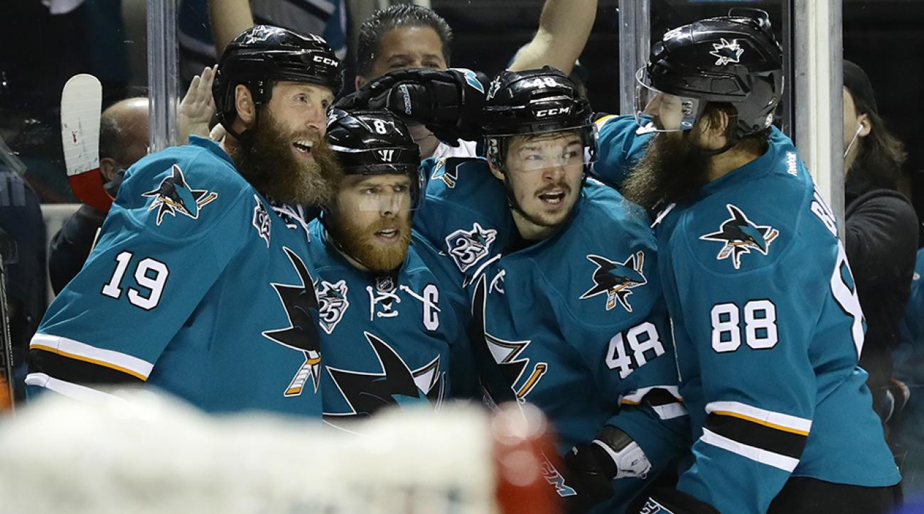 stanley cup final penguins sharks best worst beard rankings
