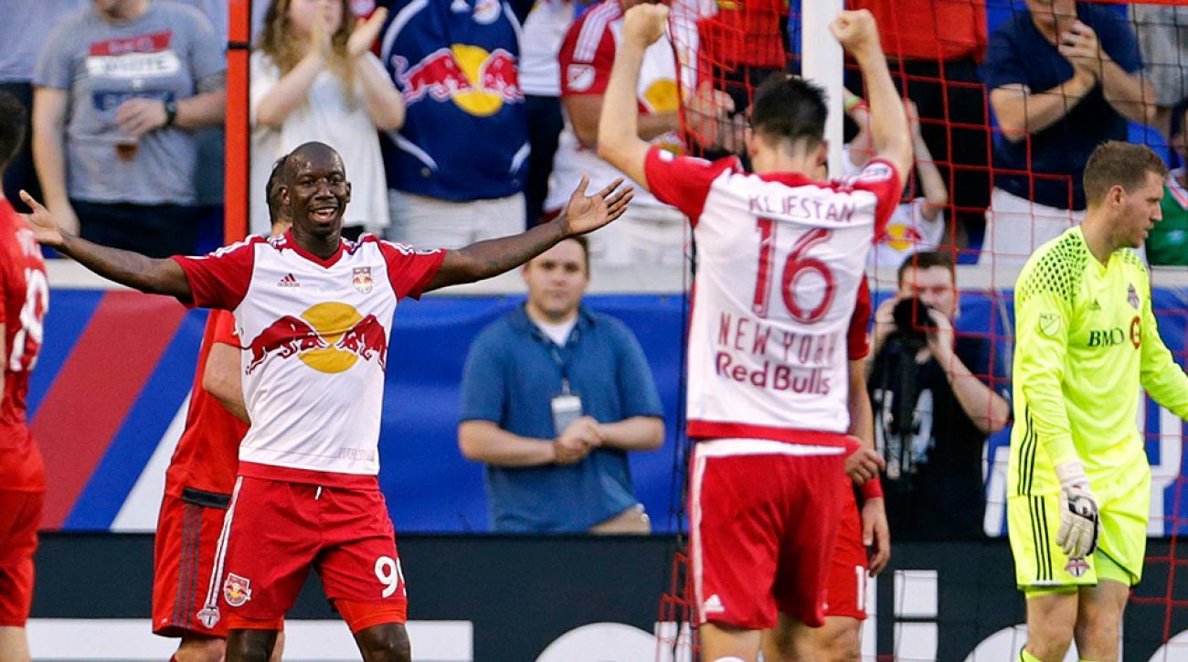 MLS: Bradley Wright Phillips scores hat trick for Red Bulls