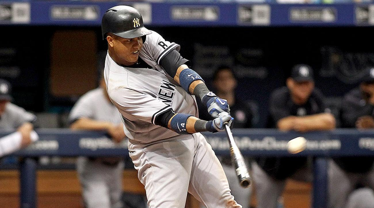 New York Yankees Starlin Castro