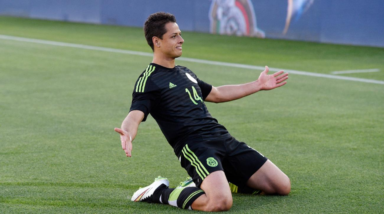 "Mexico forward Javier ""Chicharito"" Hernandez leads El Tri at Copa America"