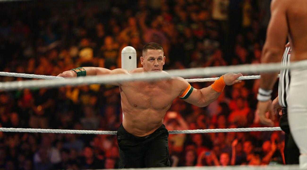 john cena returns injury