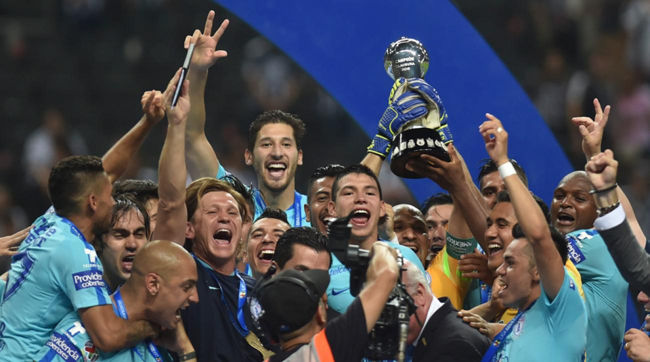 Pachuca wins the Liga MX clausura title