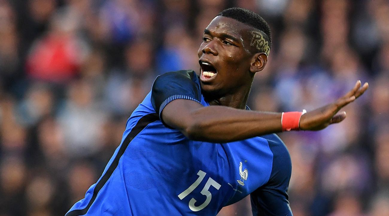 Paul Pogba and Olivier Giroud combined on a gorgeous goal for France.