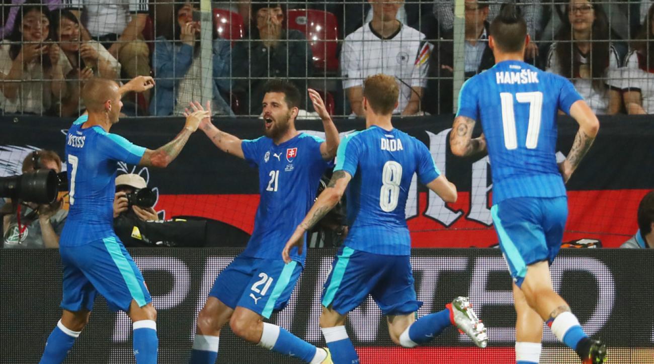 Slovakia's Euro 2016 roster