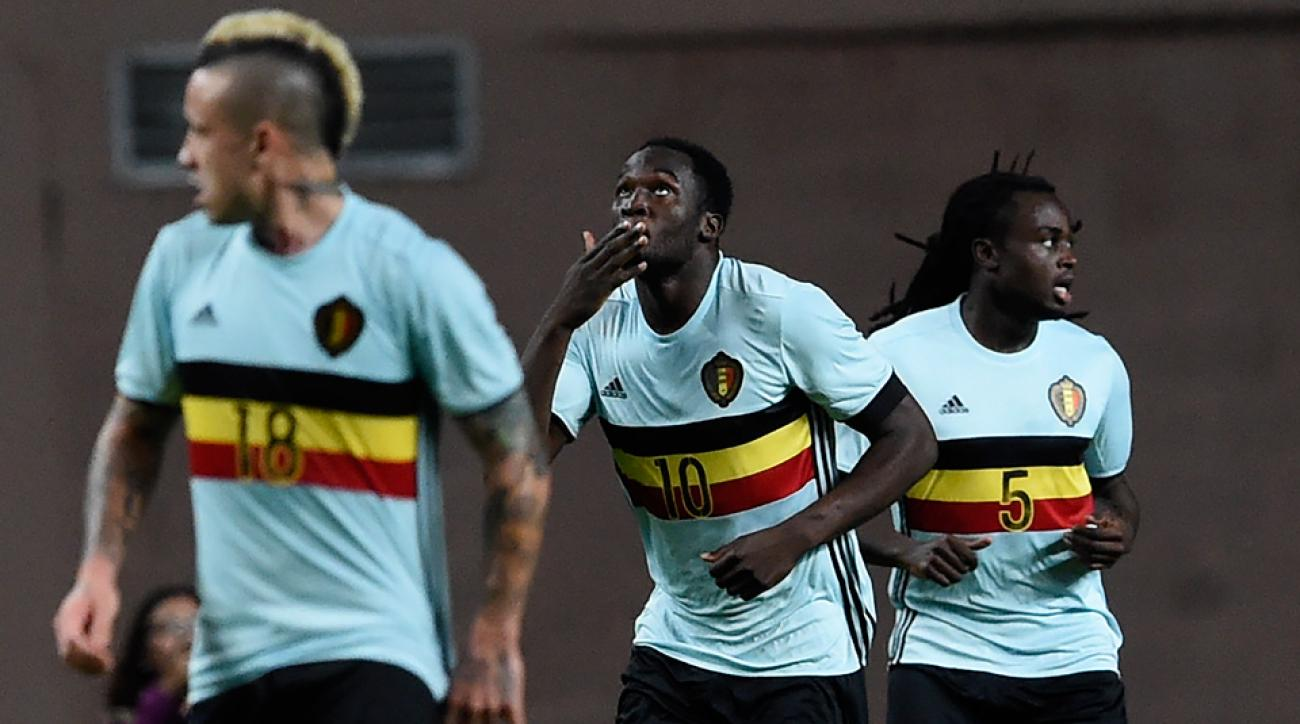 Belgium's roster for Euro 2016