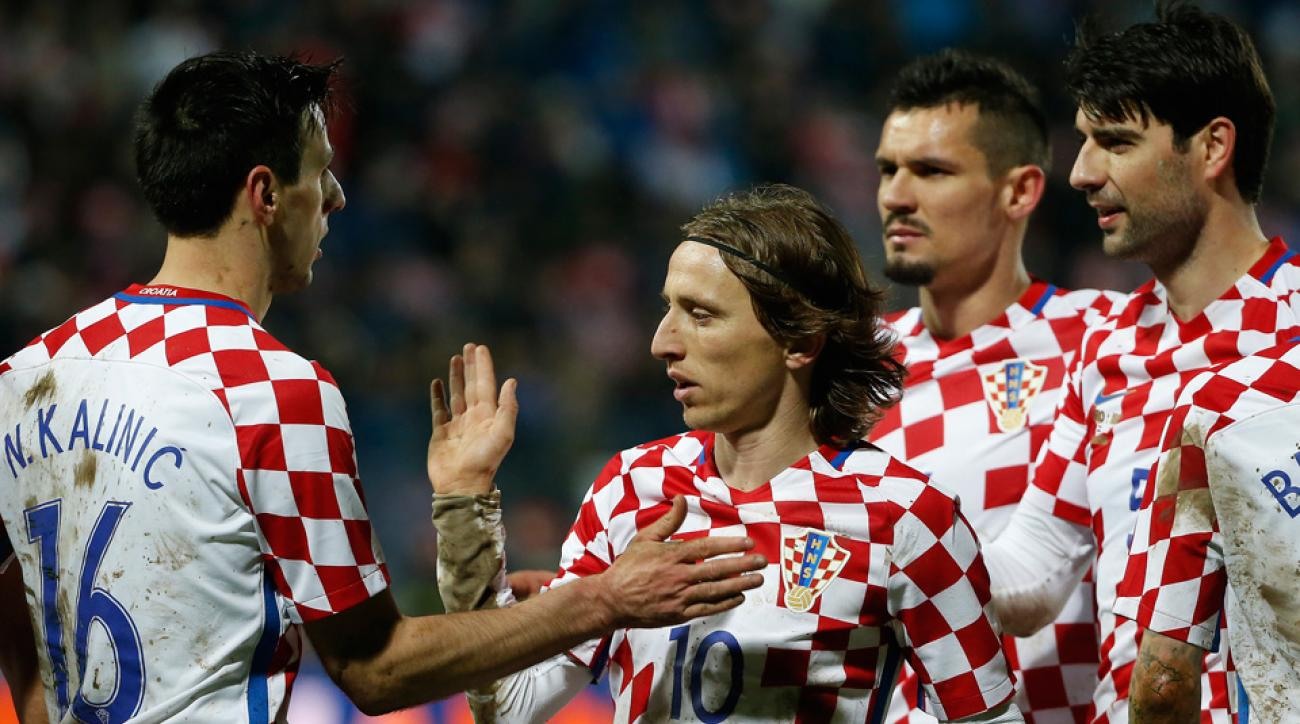 Croatia's Euro 2016 roster