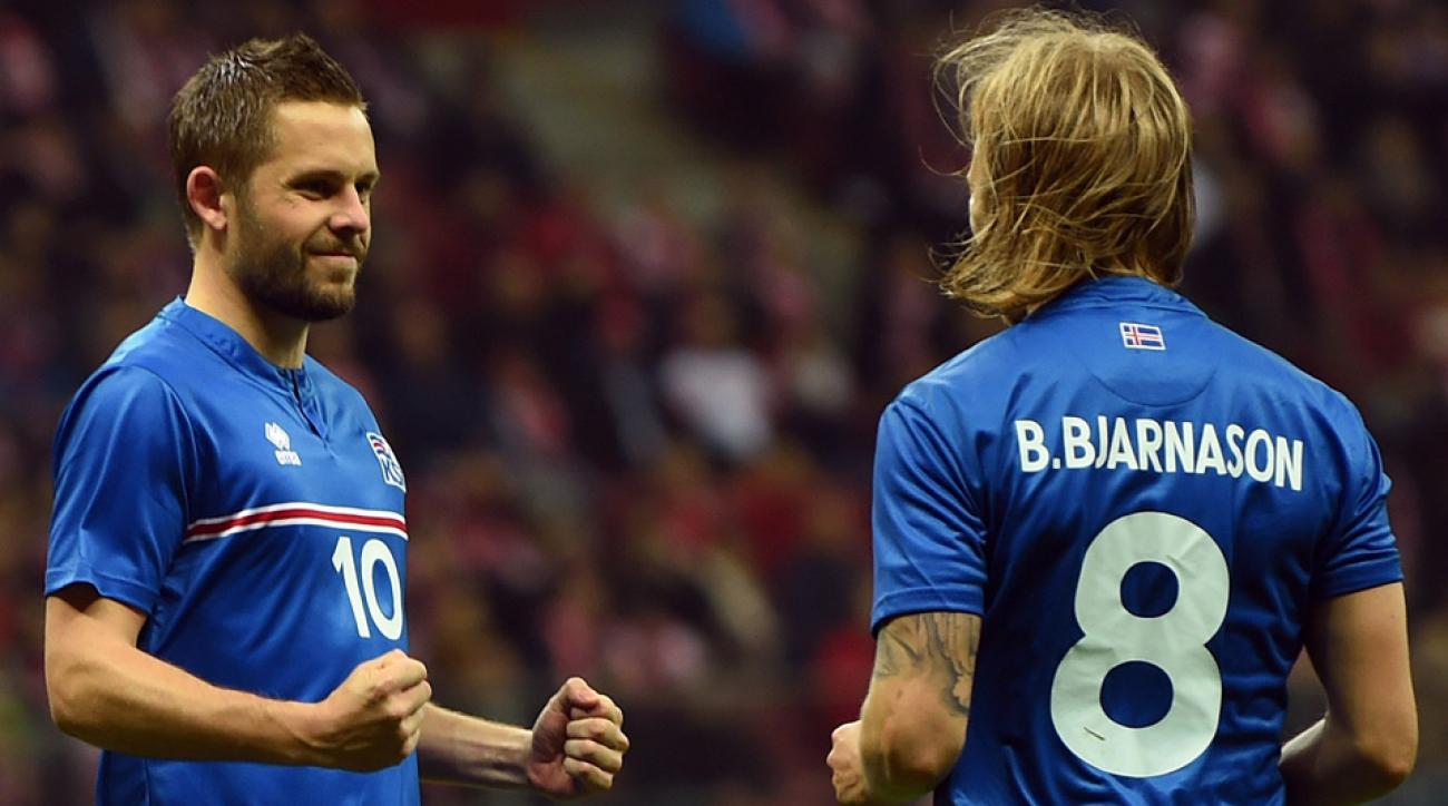 Iceland's Euro 2016 roster