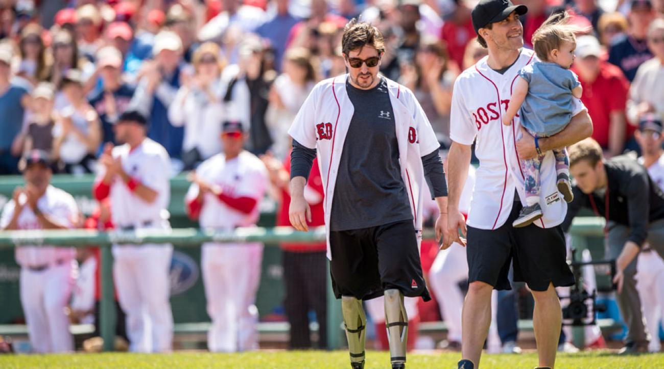 jeff bauman races mile boston marathon bombing survivor