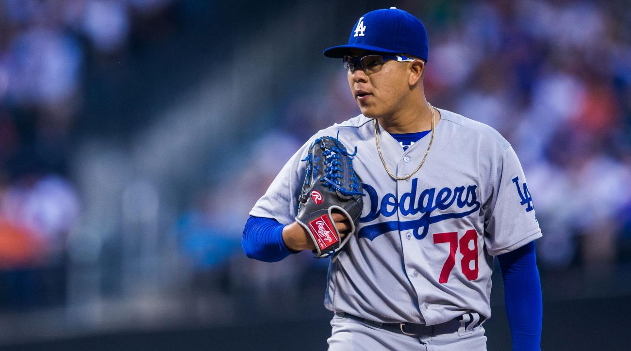 dodgers recall julio urias alex wood dl