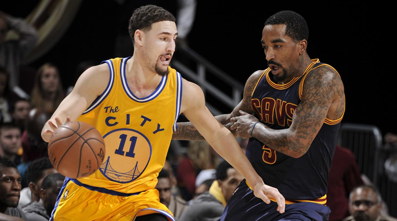 J.R. Smith earns misfortune of defending Klay Thompson   SI.com