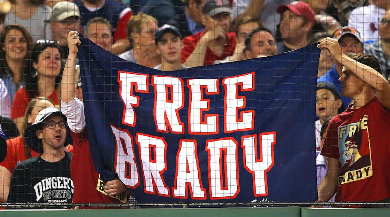 red sox tom brady deflategate tribute